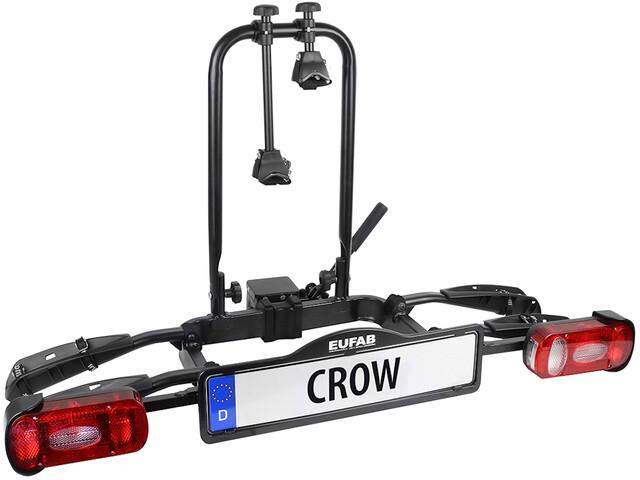 Eufab Crow Fietsendrager voor Trailer Koppeling